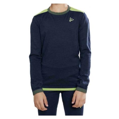 Craft FUSEKNIT COMFORT modrá - Juniorské funkčné tričko