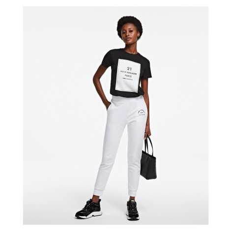 Tepláky Karl Lagerfeld Address Logo Sweat Pants