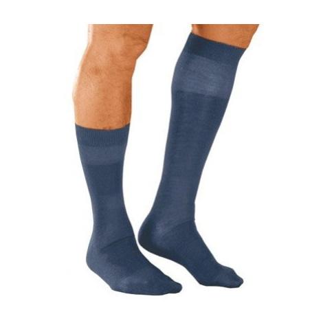 Blancheporte Ponožky s masážnym efektom, 98 % bavlna, 2 páry modrá