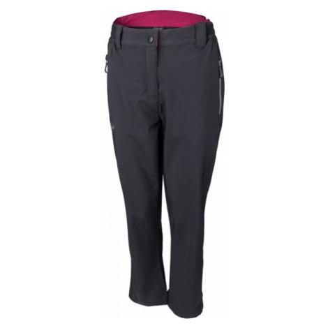 Hi-Tec LADY ALVARO tmavo šedá - Dámske softshellové nohavice