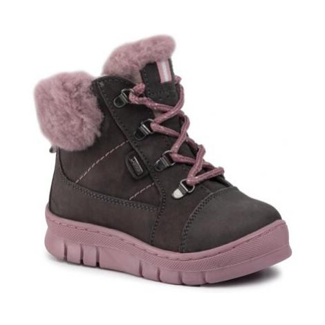 Šnurovacia obuv Lasocki Kids CI12-GEE-01 Prírodná koža(useň) - Nubuk