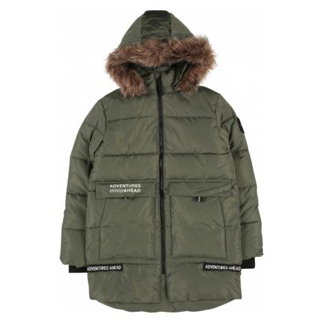 NAME IT Zimná bunda 'Maniibal'  kaki