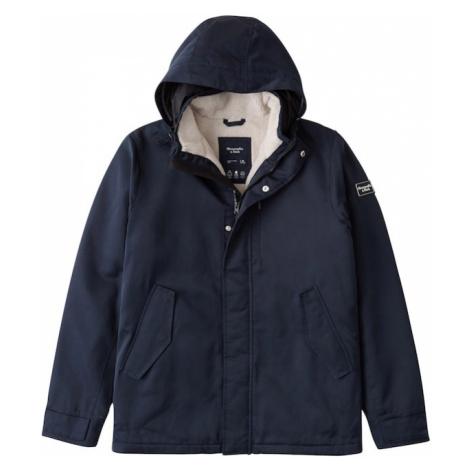 Abercrombie & Fitch Zimná bunda  námornícka modrá