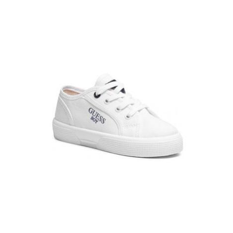 Guess Sneakersy Piumo FI7PIO FAB12 Biela
