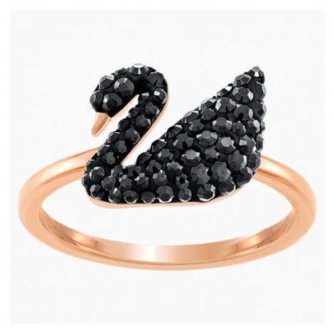 Swarovski Luxusné prsteň s labuťou SWAN 60 mm