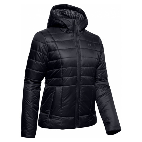 UA Armour Insulated Hooded Jkt-BLK Under Armour