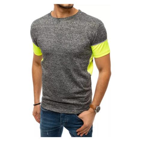 Dark gray Dstreet RX4514 men's T-shirt