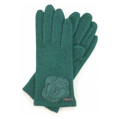 Zelené dámske rukavice Wittchen
