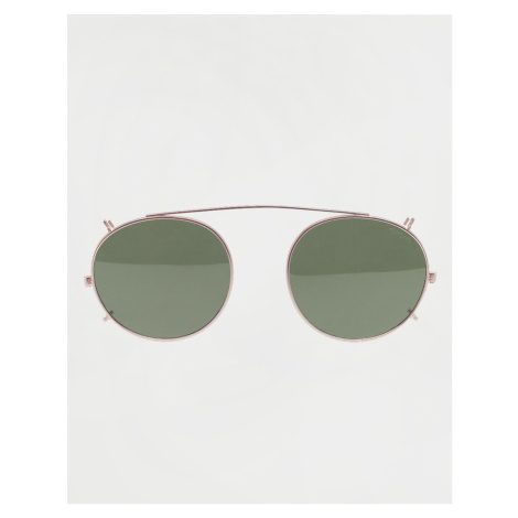 Komono Clip on Martin White - Gold/Green