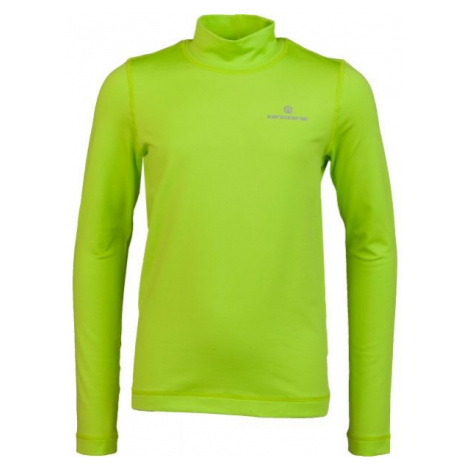 Arcore ZARKO zelená - Detské funkčné tričko s dlhým rukávom