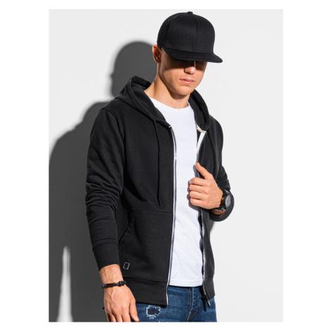 Ombre Clothing Men's zip-up sweatshirt B1145