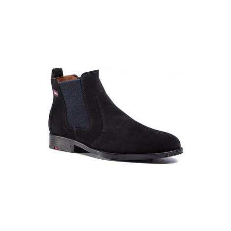 Lloyd Členková obuv s elastickým prvkom 29-558-20 Čierna