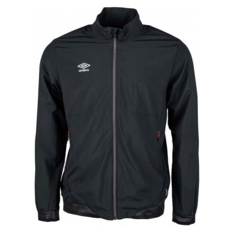 Umbro TRAINING WOVEN JACKET čierna - Pánska športová bunda