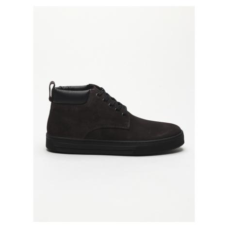 Kotníková obuv Trussardi Jeans Čierna