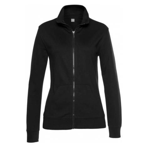 BENCH Tepláková bunda  čierna
