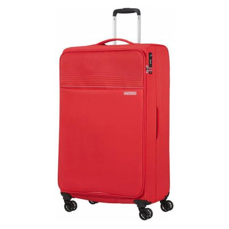 American Tourister Látkový cestovný kufor Lite Ray XL 105 l - červená