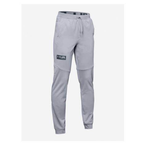 Tepláky Under Armour Game Time Fleece Pant-Gry Šedá