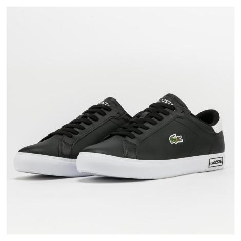 LACOSTE Powercourt Leather black / white
