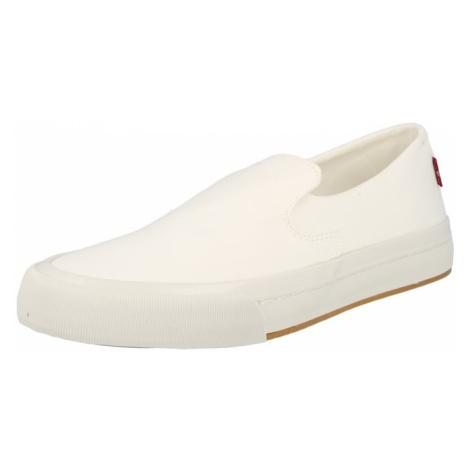 LEVI'S Slip-on obuv 'SUMMIT'  biela Levi´s