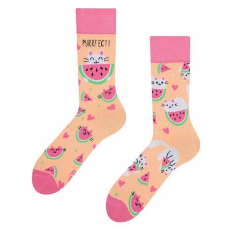 Ponožky Good Mood regular Watermelon Cat