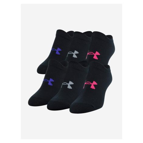 Ponožky Under Armour Girl\'S Essential Ns Čierna