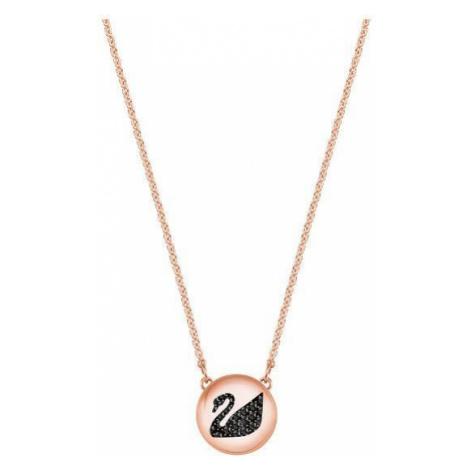 Swarovski Módne náhrdelník s labuťou Hall SWAN