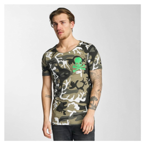 2Y Camo T-Shirt Khaki - Veľkosť:L