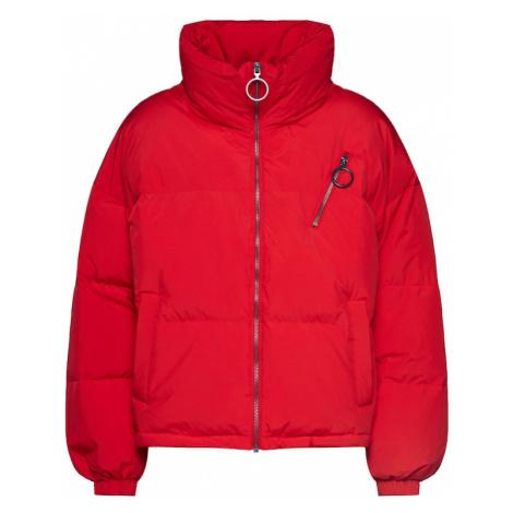 UNITED COLORS OF BENETTON Zimná bunda  červená