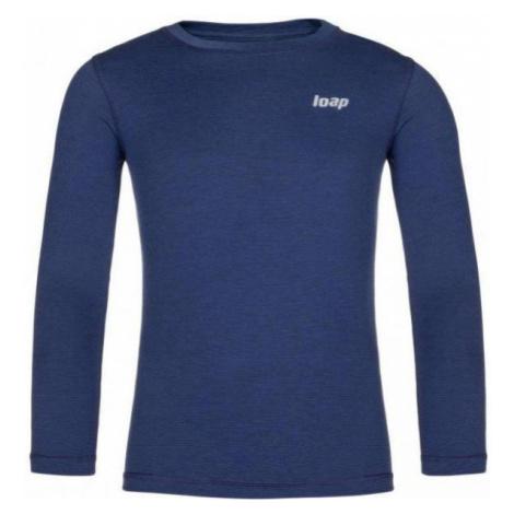 Loap PITTA modrá - Detské funkčné tričko