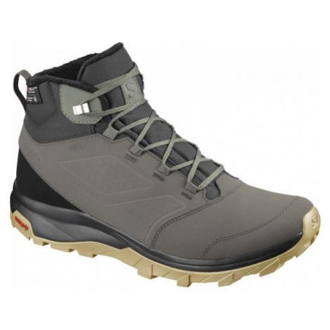 Salomon YALTA TS CSWP šedá - Pánska zimná obuv