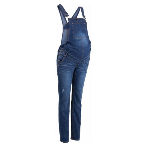 Tehotenské džínsy na traky, straight bonprix