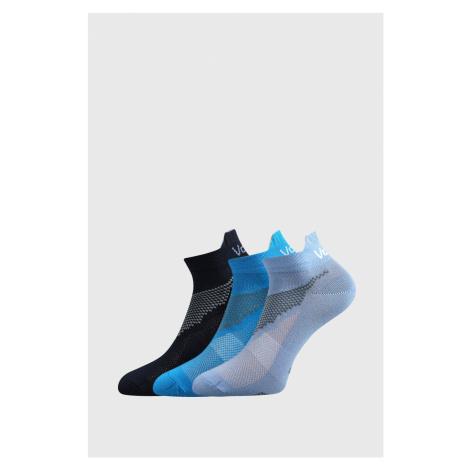 3 PACK chlapčenských ponožiek VOXX Iris modrá