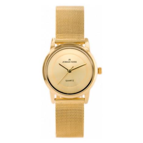 Dámske hodinky s elegantným kovovým náramkom Jordan Kerr S8252L-C.skl