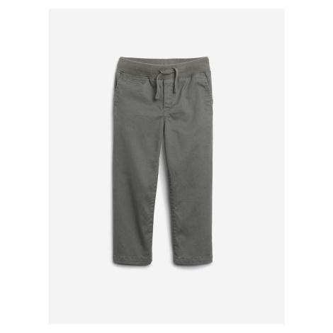 Sivé dievčenské casual nohavice