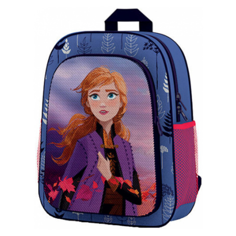 Oxybag FROZEN modrá - Predškolský batoh