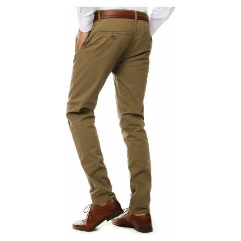 Men's camel chino trousers UX2599 DStreet