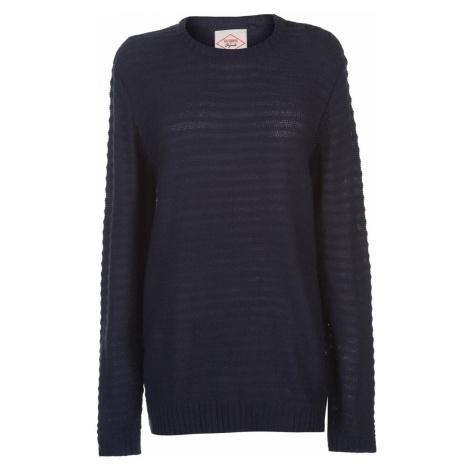 Lee Cooper Button Shoulder Knitted Jumper Ladies