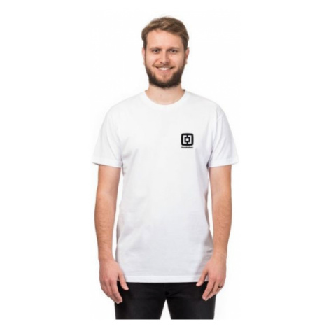 Horsefeathers HOGAN T-SHIRT biela - Pánske tričko