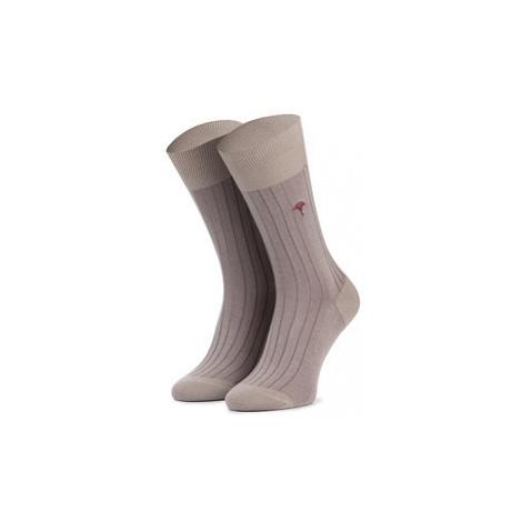 Joop! Vysoké pánske ponožky New Two Tone Sock I Er 900.078 Béžová
