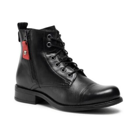 Šnurovacia obuv Lasocki ARC-DESA-09 Prírodná koža(useň) - Lícova