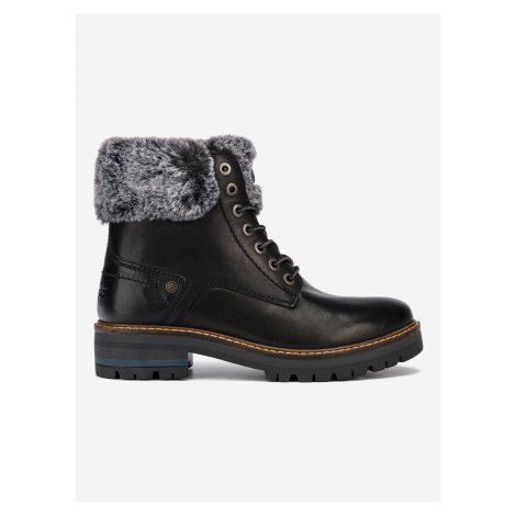 Denver Alaska Kotníková obuv Wrangler Čierna