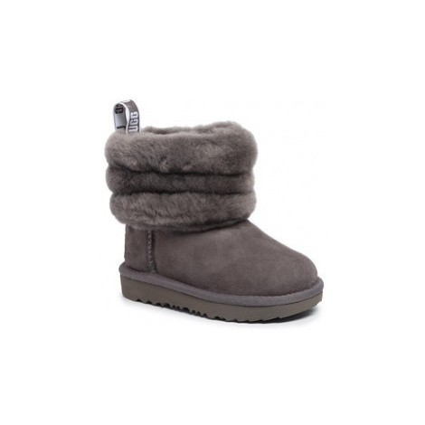 Ugg Topánky T Fluff Mini Quilted 1103612T Sivá