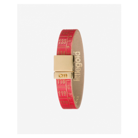 Il Centimetro Little Red Gold Náramok Červená Zlatá
