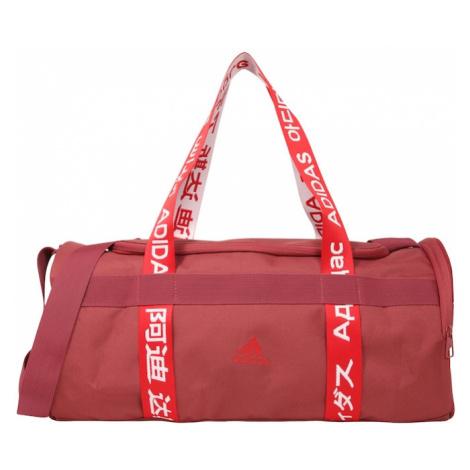 ADIDAS PERFORMANCE Športová taška  biela / pastelovo červená / svetločervená