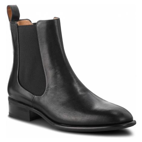Kotníková obuv s elastickým prvkom VAGABOND - Mira 4643-301-20 Black