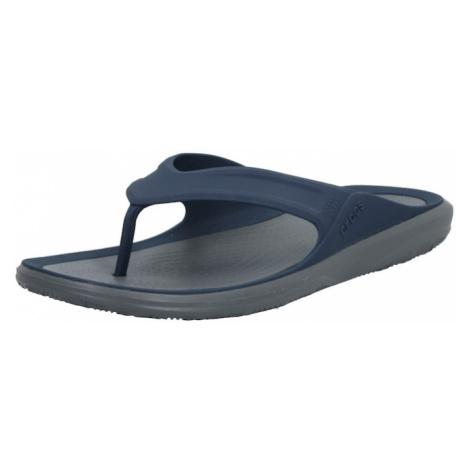 Crocs Žabky 'Swiftwater Wave Flip M'  námornícka modrá / sivá