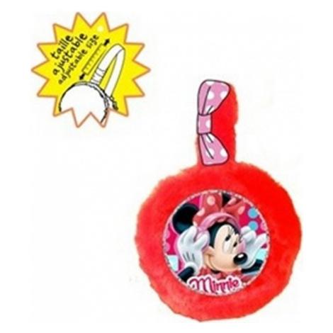Minnie mouse červené chrániče uší Disney