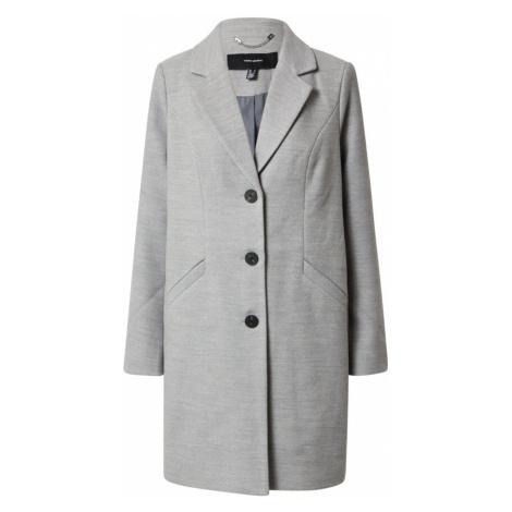 VERO MODA Prechodný kabát  sivá