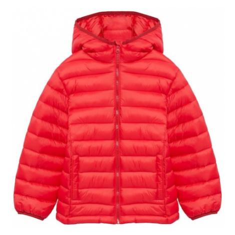 MANGO KIDS Zimná bunda 'Unico8'  červená