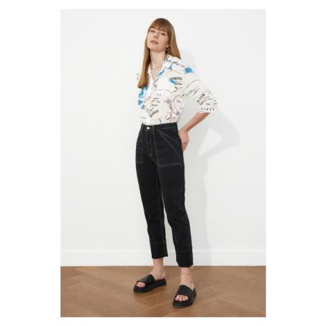 Trendyol High Waist Straight Jeans